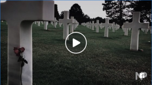 Video of WWII Veteran Robert Weber talking about the importance of remembering with The Girl Who Wore Freedom