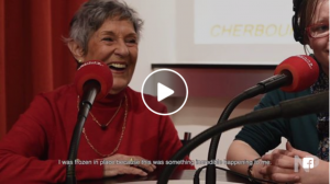 Embedded video of an interview with Danièle Patrix and Flo Plana of The Girl Who Wore Freedom