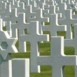 Soldier's tombstones in Normandy