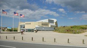 The Utah Beach Museum in Normandy