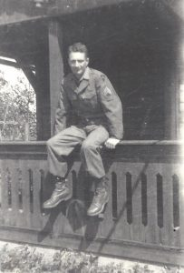 Myron H Miller WWII Germany 1945