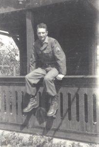 Myron H Miller WWII Germany 1945
