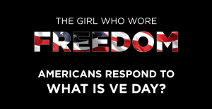Title slide for the video Americans respond to what is VE Day?