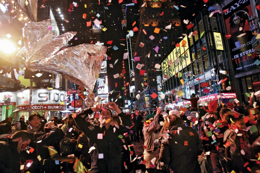New Years - Spencer Platt/Getty Images