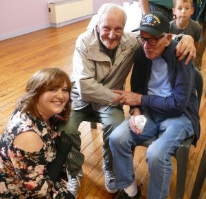 Michelle Phoenix, Willie, and a grateful Frenchman
