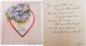 Frank Miller valentine from 1943