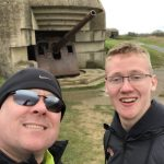 Jeremy and Josh Taylor at Longes Sur Mere