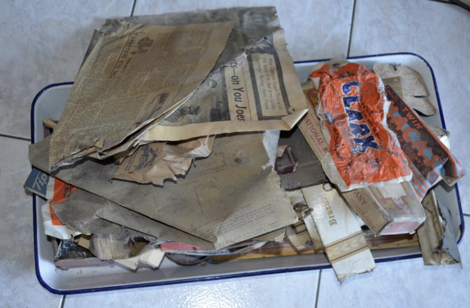 Forgotten Letters Under A Floorboard, pt. 1