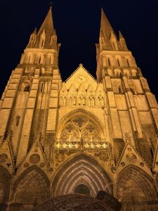 Cathedral in Normandy