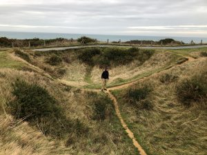 Crater in Normandy
