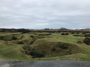Craters in Normandy