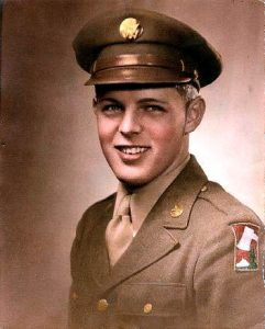 Todd Anton's dad from WWII
