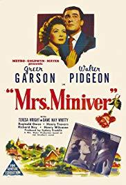 Mrs Miniver movie poster