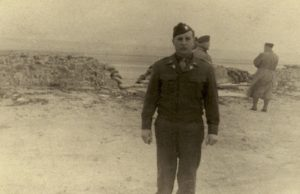 Robert A. Miller on Utah Beach
