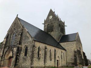 A church in Normandy