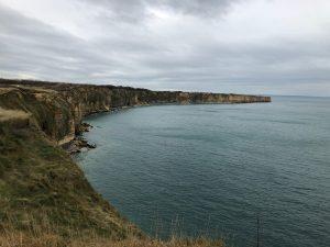 Cliffs in Normandy