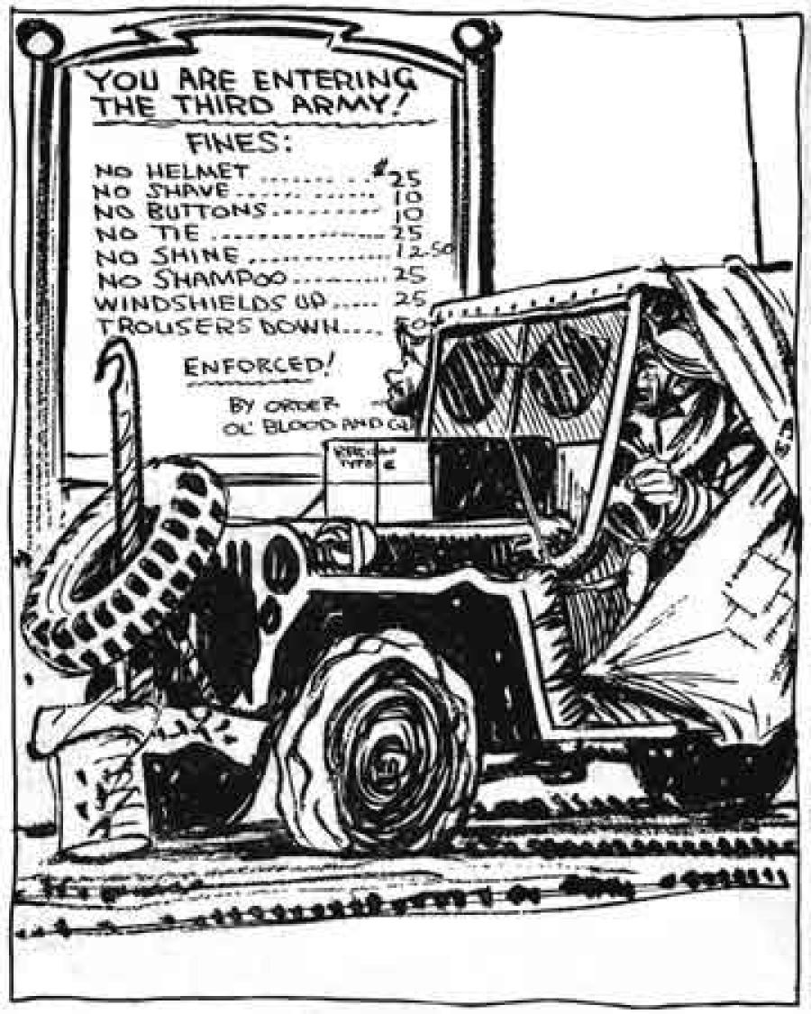 Mauldin's Patton Cartoon