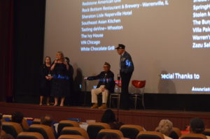 Veterans and Director Christian Taylor in the Chicago Screening of The Girl Who Wore Freedom on July 24th, 2019