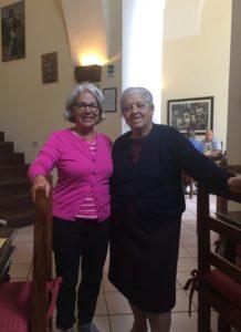 Janice and Margherita