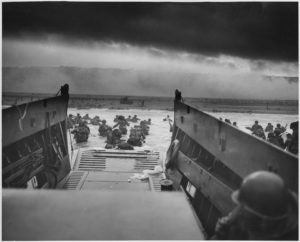 Troops Landing at Normandy