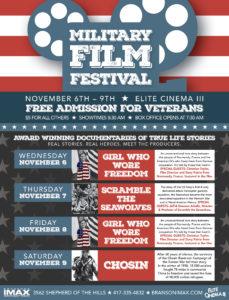 Branson Military Film Festival Screenings