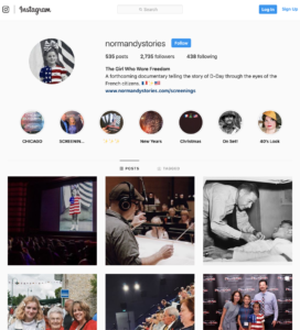 The Girl Who Wore Freedom on Instagram