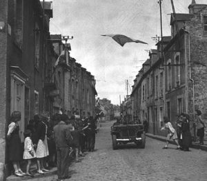 Troops in Carentan