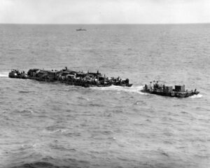 Barge's for Normandy