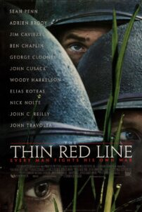 Thin Red Line Movie Poster