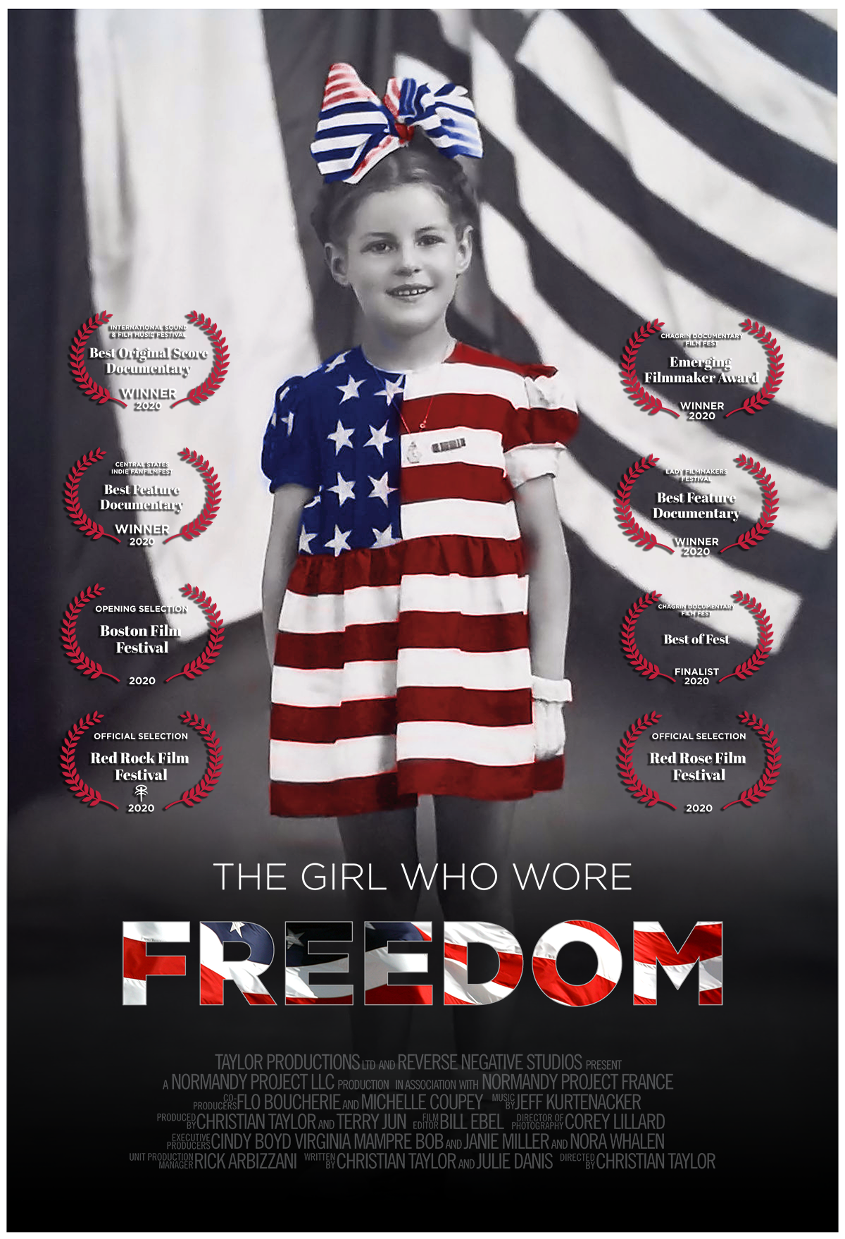 The Girl Who Wore Freedom movie poster vertical
